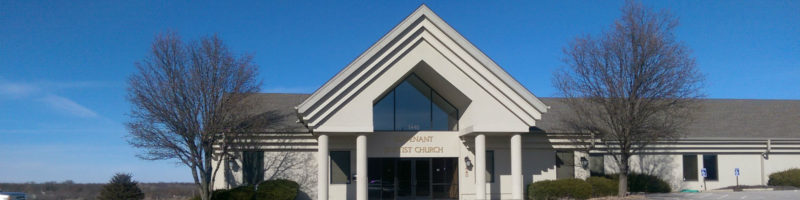 outside front of Covenant Baptist Church