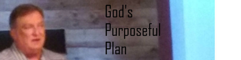 Bob Mills God's Purposeful Plan Sermon Banner