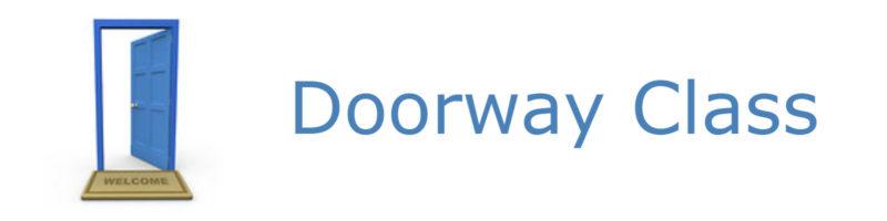 Doorway Class Banner